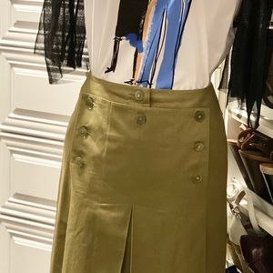 Authentic Chanel Pleated Skirt